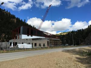 North Clear Creek Water Treatment Plant Progress Shot